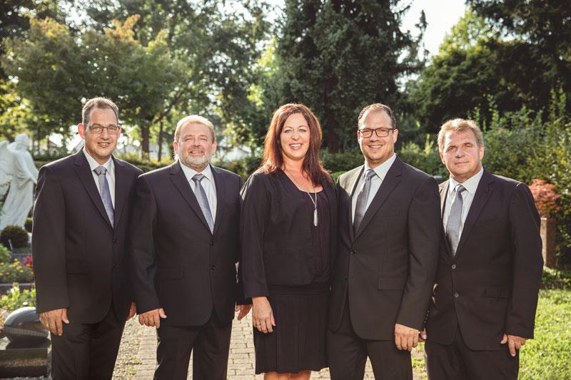 Das Team Köppel Bestattungen Rastatt